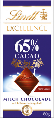 Excellence Milch Chocolade 65�_280672